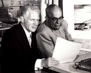 Figura 1. Sidney Garfield (1906-1984) e Henry Kaiser (1882-1967)